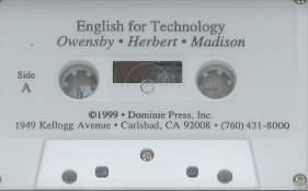 [TAPE] English for Technology By Owensby, Jean/ Herbert, Haideh/ Madison, Tamara